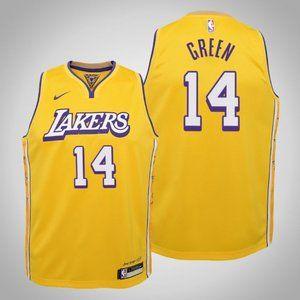 Women Lakers #14 Danny Green City Jersey